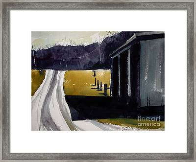 A Perfect Shadow Framed Print