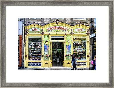 A Perola Do Bolhao In Porto Framed Print by RicardMN Photography