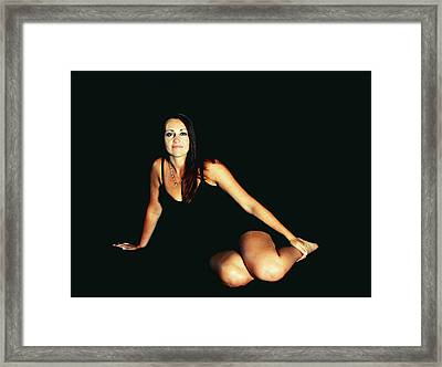A Person Divided Framed Print