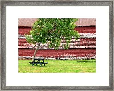 Framed Print featuring the photograph A Picnic For You And Me by Corinne Rhode