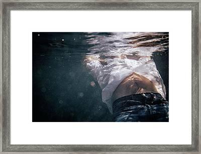 A Piece Of A Man Framed Print