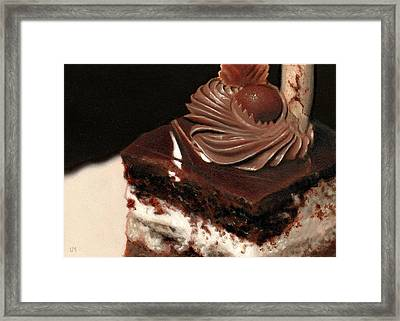 A Piece Of Cake Framed Print