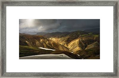 A Piece Of Laugavegur Framed Print by Tor-Ivar Naess