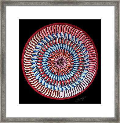A Piece Of My Heart Framed Print by Marcia Lupo