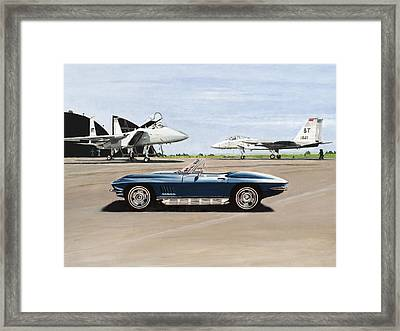 A Pilots Dream Framed Print by Richard Herron