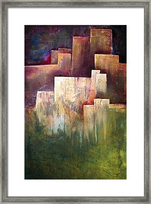 A Place For Solace Framed Print by Shadia Derbyshire