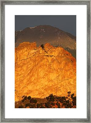 A Place In The Sun Framed Print by Eric Glaser