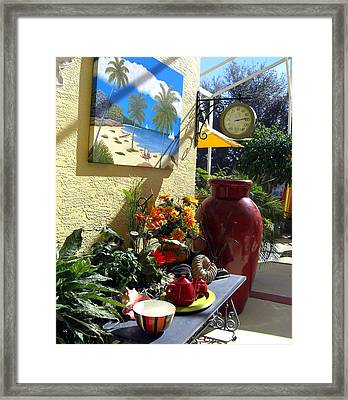 A Place In The Sun Framed Print by Frederic Kohli