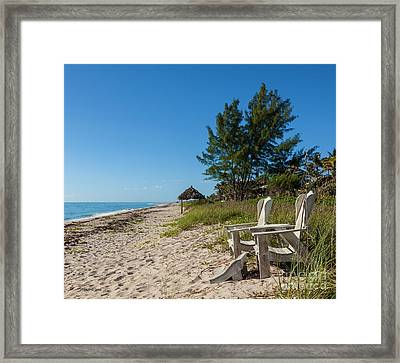 Framed Print featuring the photograph A Place In The Sun by Michelle Wiarda