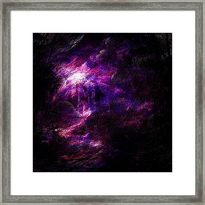 A Place Of Agony Framed Print by Rachel Christine Nowicki