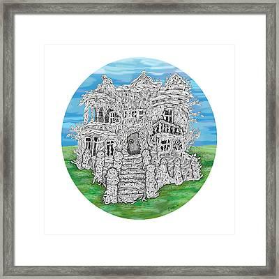 House Of Secrets Framed Print