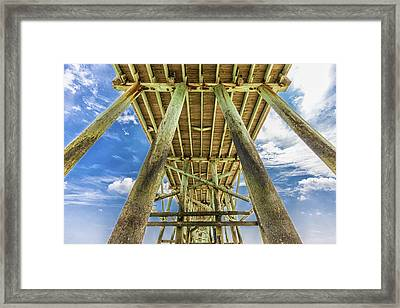Framed Print featuring the photograph A Place To Chill by Paula Porterfield-Izzo