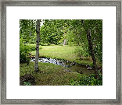 Framed Print featuring the photograph A Place To Dream Awhile by Ben Upham III