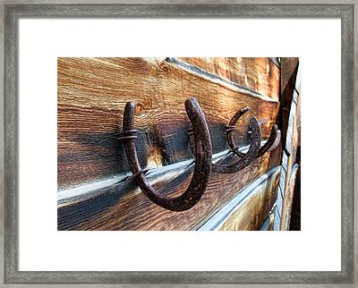 A Place To Hang Your Hat Framed Print