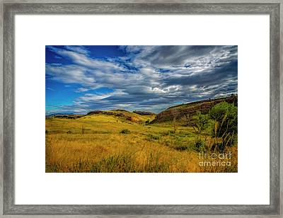 A Place To Hike Framed Print by Jon Burch Photography