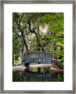 A Place To Meditate Framed Print