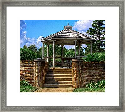 A Place To Pray-2 Framed Print by Robert Pearson