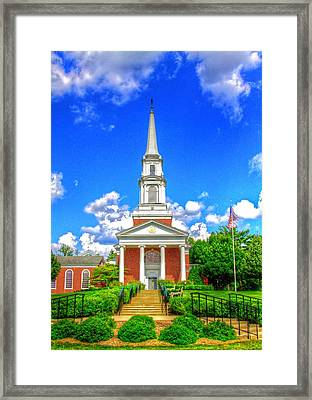 A Place To Pray Framed Print by Robert Pearson