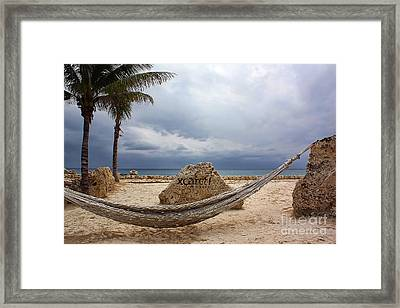 A Place To Relax Framed Print