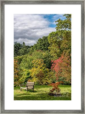 A Place To Rest Framed Print by Adrian Evans
