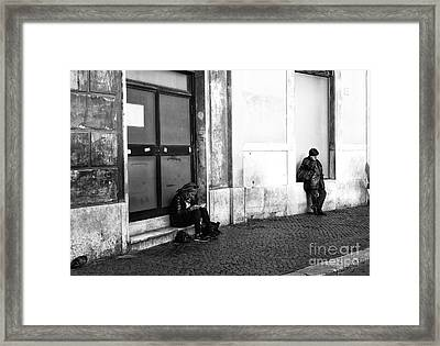 A Place To Rest Framed Print by John Rizzuto