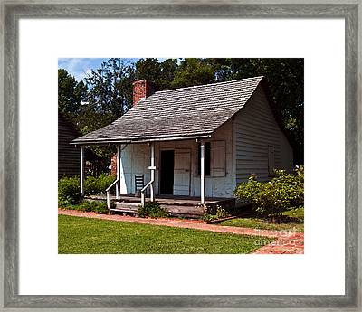 Framed Print featuring the photograph A Place To Rest by Ken Frischkorn