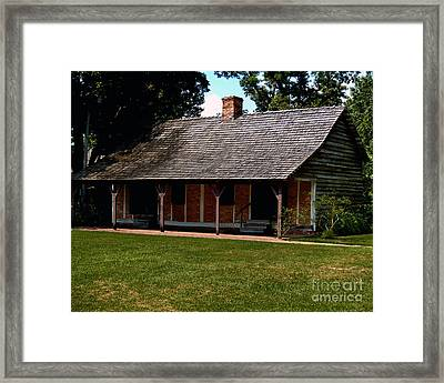 Framed Print featuring the photograph A Place To Rest Two by Ken Frischkorn