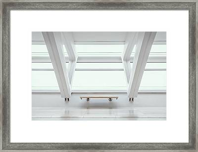 A Place To Sit 1 Framed Print by Scott Norris