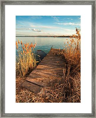 A Place Where Lovers Meet Framed Print