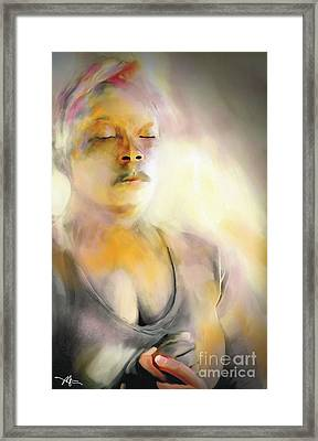 A Prayer For Haiti Framed Print by Bob Salo