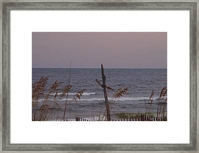 A Prayer For The Gulf Framed Print by Maria Suhr