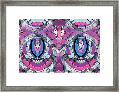 A Priori Derivative Number Three Framed Print by Thomas Albany