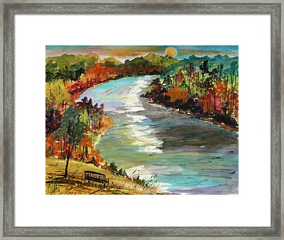 A Private View Framed Print