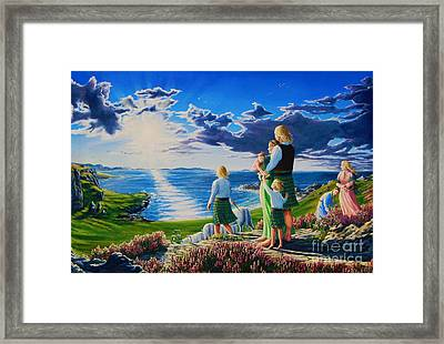 A Promising Future Framed Print