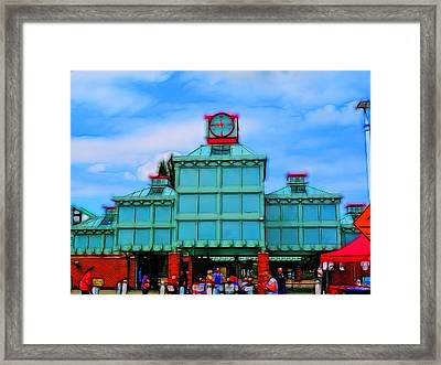 A Quarter To 12. Framed Print by Tim Coleman