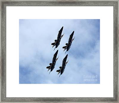 A Quartet Of Angels Framed Print