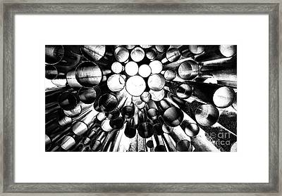 A Question Of Perspective 2 Sibelius Monument Framed Print