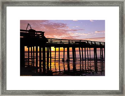 A Quiet And Beautiful Start Framed Print by Lora Lee Chapman