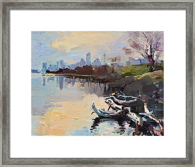 A Quiet End Of Day Framed Print by Ylli Haruni