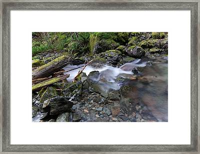 A Quiet Flowing  Framed Print by Jeff Swan