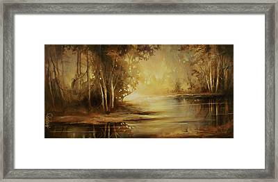 A Quiet Moment Framed Print by Michael Lang