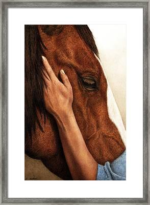 A Quiet Moment Framed Print by Pat Erickson