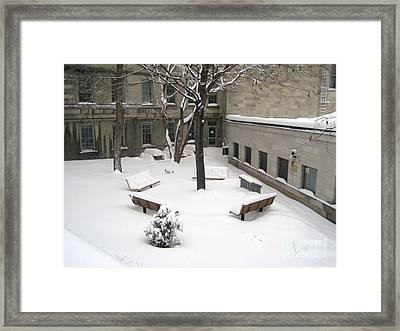 A Quiet Place Framed Print by Reb Frost