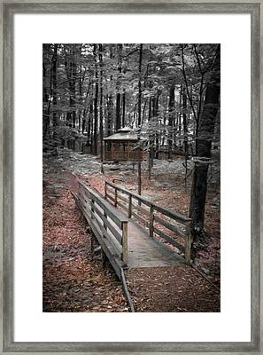 A Quiet Place Framed Print by Tom Mc Nemar
