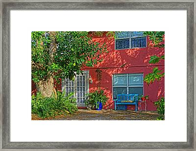 A Quiet Respite Framed Print by HH Photography of Florida
