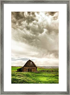 A Quiet Storm Framed Print