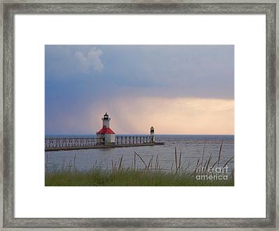 A Quiet Wonder Framed Print