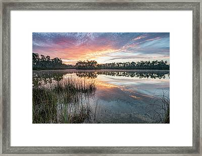 A Rainbow Of Colors Framed Print by Jon Glaser