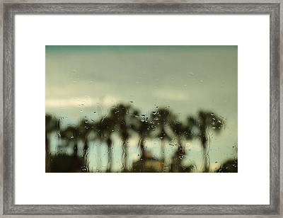 A Rainy Day Framed Print