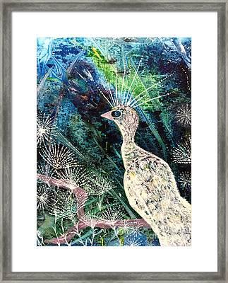 A Rare Bird Framed Print